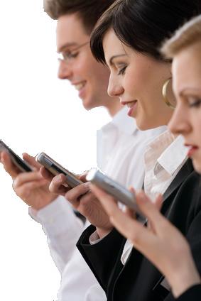 Abrimos un 98% de los SMS recibidos, frente a un 20% de los email. Fuente: Frost & Sullivan.